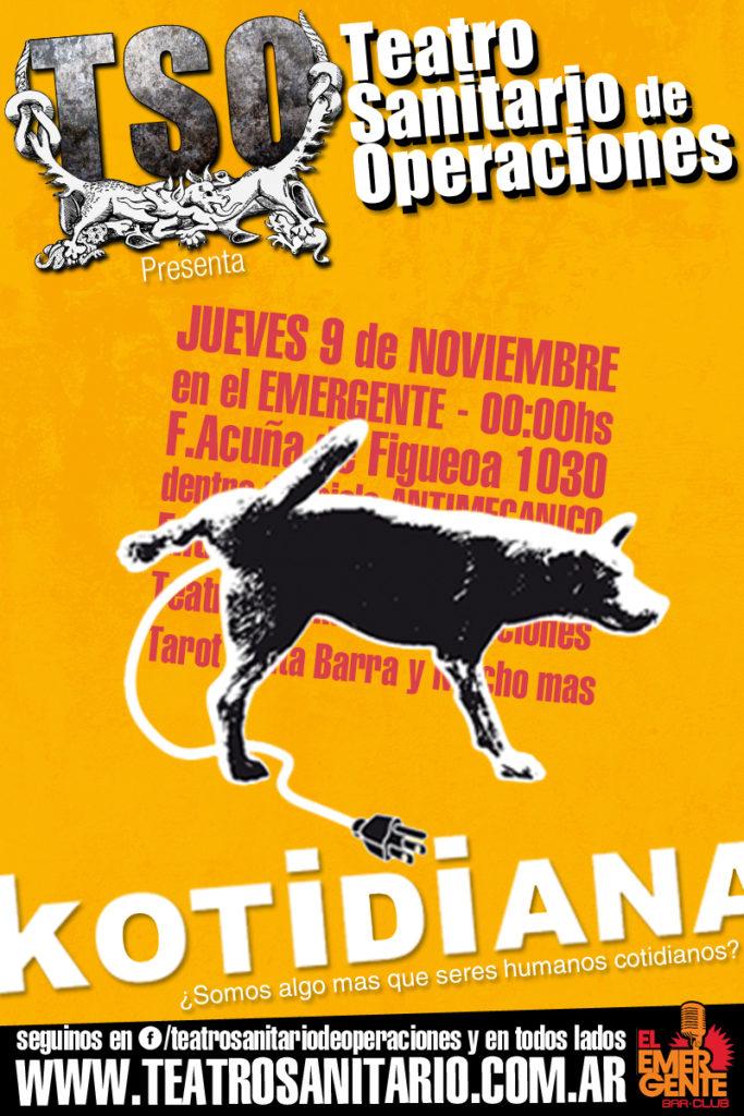 AficheKot17_emergente2_9 de noviembre
